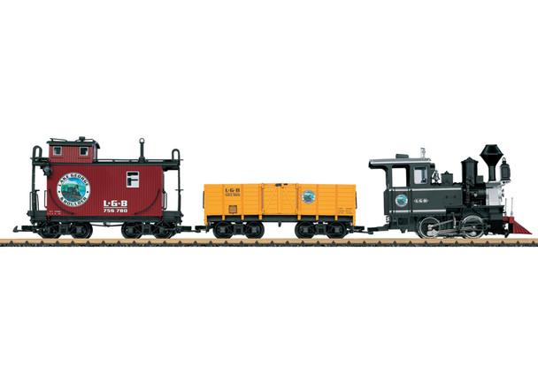 LGB 72426 AMERICAN FREIGHT TRAIN STARTER SET