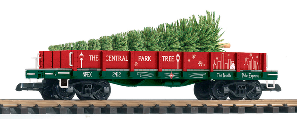 PIKO 38777 CENTRAL PARK CHRISTMAS TREE TRANSPORT (G-SCALE)
