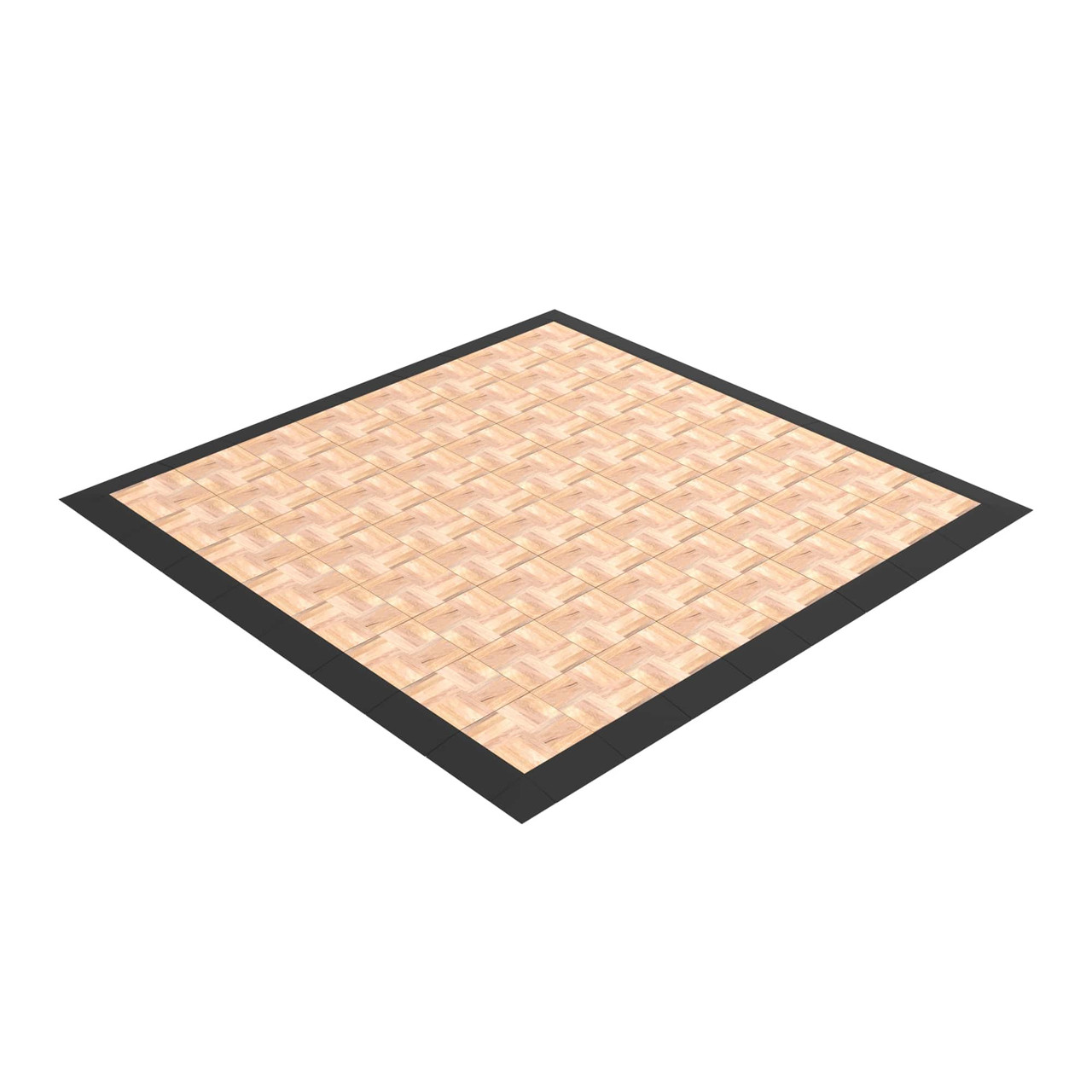 The 8' x 8' EverDance Floor Kit can get bigger and bigger, just add more tiles to it!