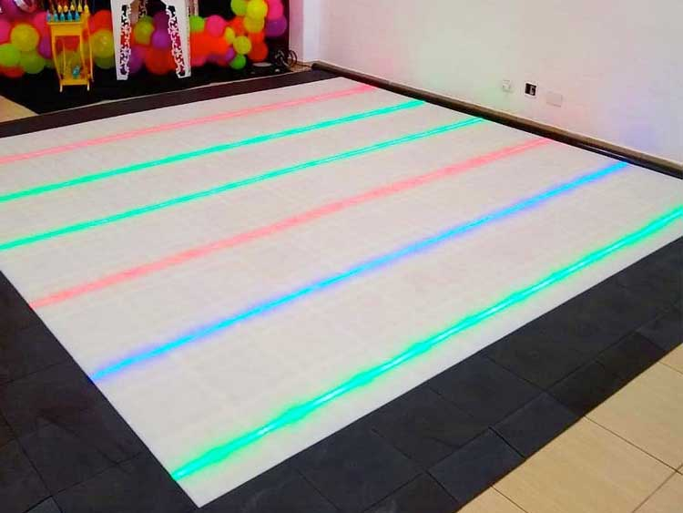 Illuminate your dance floors with LED lights