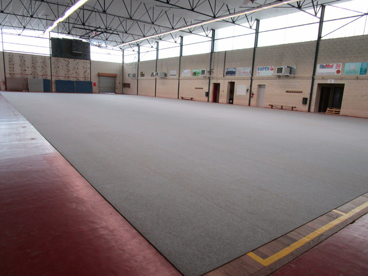 Protect your gym floor with the EverCover