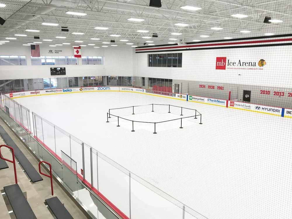 Protect your ice rinks with EverBlock Flooring