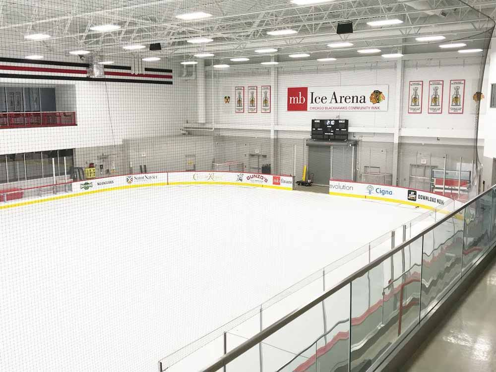 Turn an ice rink into a trade show floor with EverBlock Flooring