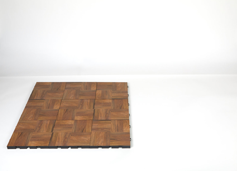 Step 1 of installing floor