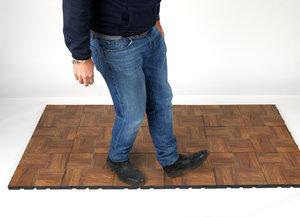 Step 4 of installing floor