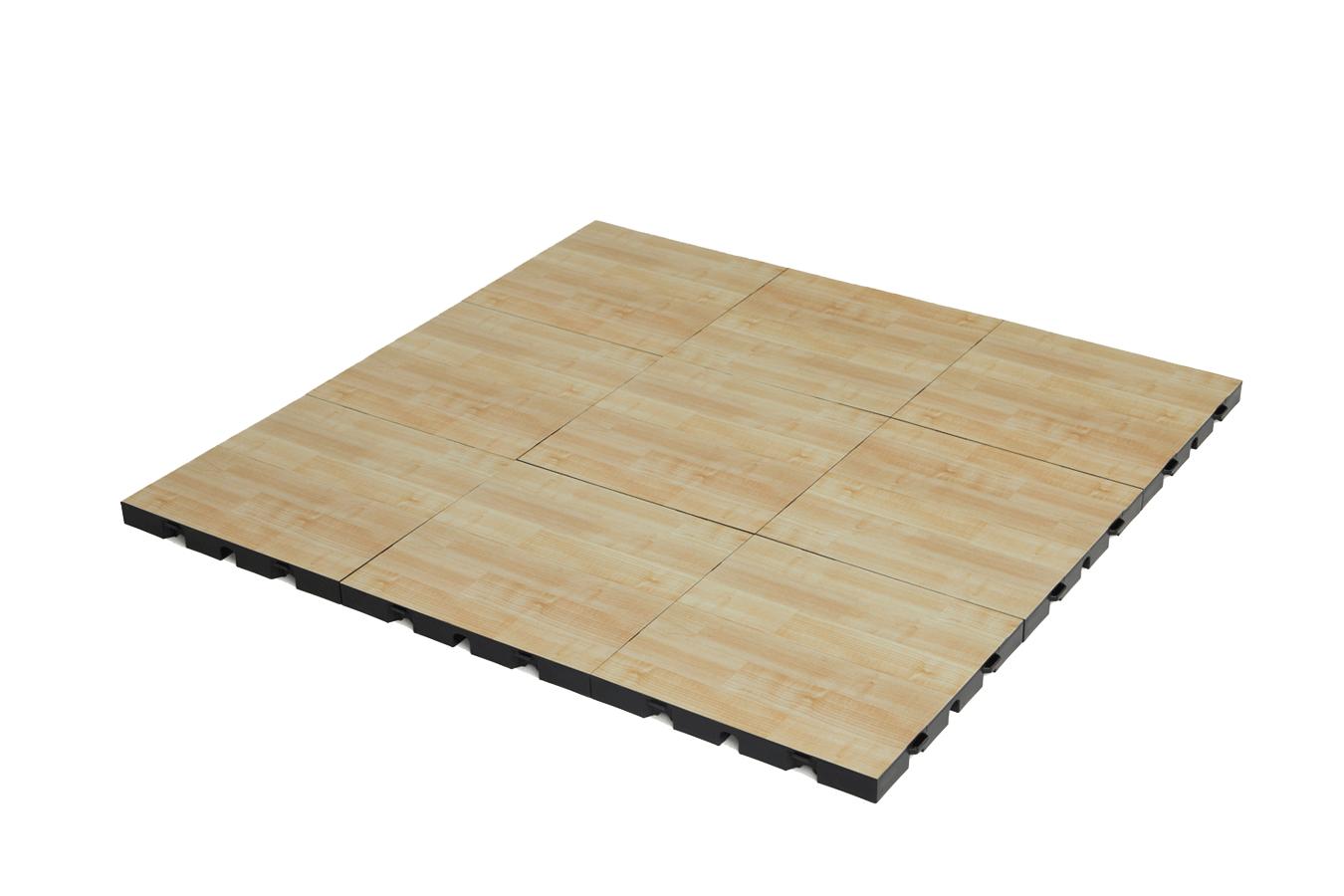 EverBlock Flooring Light Wood Plank