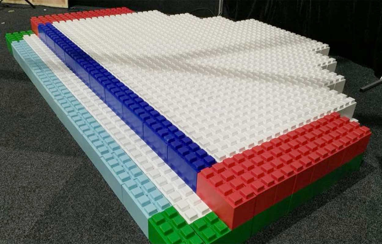 Stages and Risers can be created using EverBlocks and EverBlock Flooring tiles