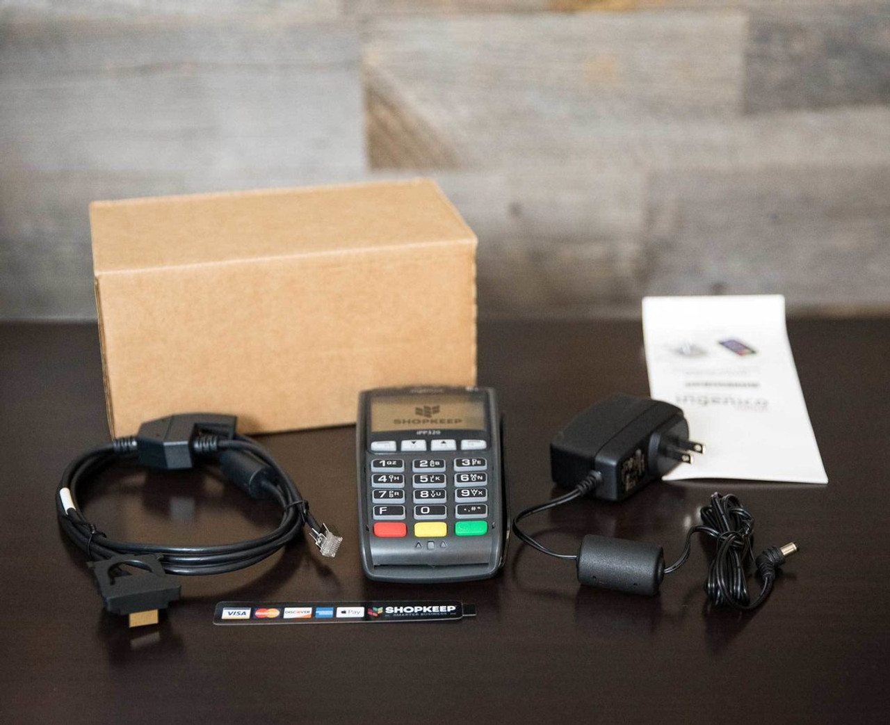 Refurbished Ethernet Credit Card Reader (iPP320)