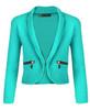 Girls Chiffon Dress Bundle with Zip Jacket in Mint