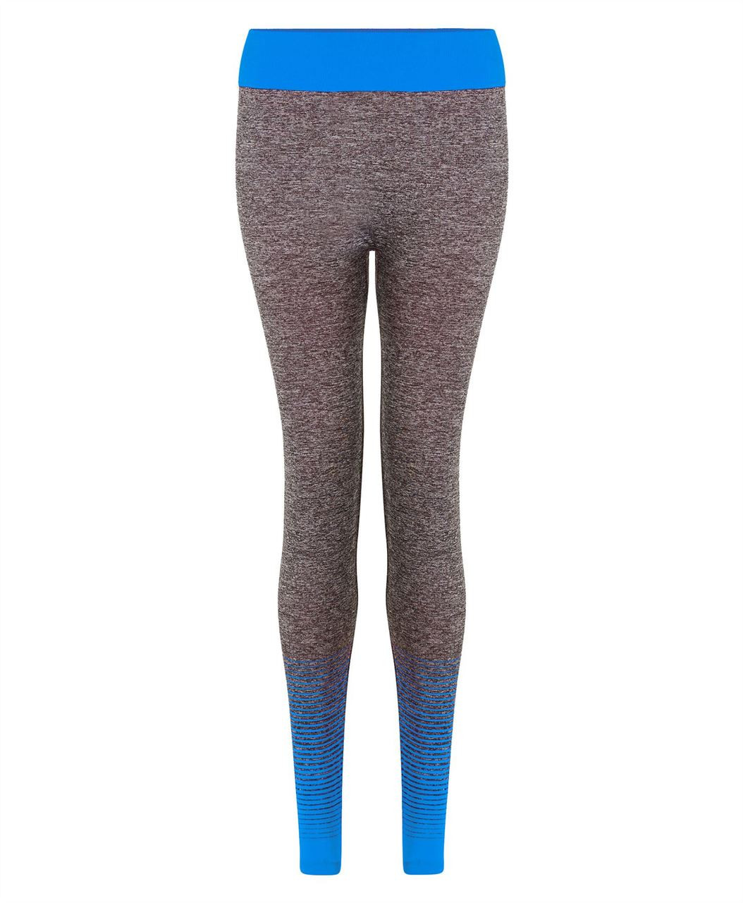 a74d69f7e5 Ladies Full Length Leggings in Black, Neon Yellow and Blue