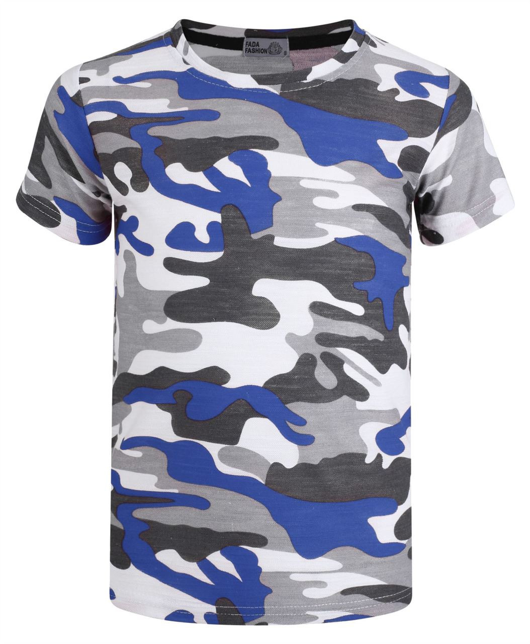 Boys Military T-shirt for 3-16 Y Available In 4 Colours. 038b3a74cac
