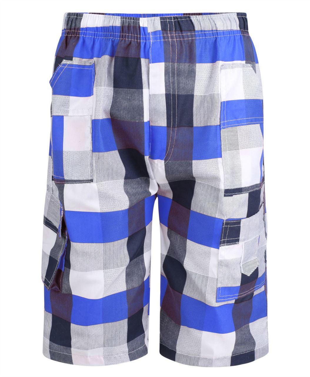 LOTMART Boys Jersey Shorts Splash Print