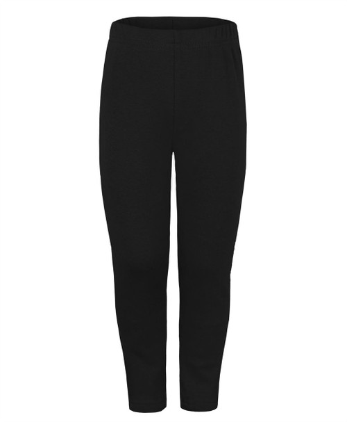 Kids Faux Fur Lined Warm Leggings in Black, Navy and Charcoal