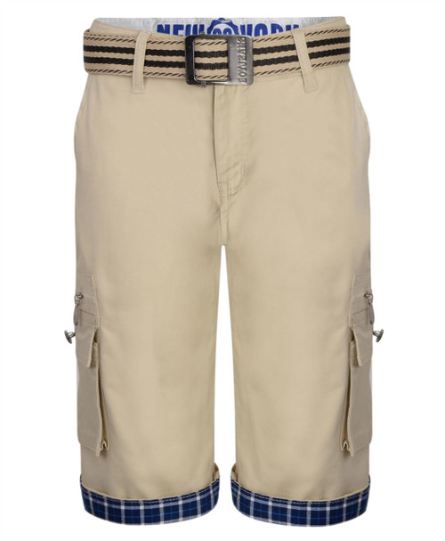 Kids Chino Shorts in Beige