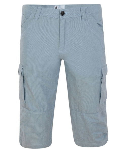 Mens Cargo Shorts in Pin Stripe and Camo Khaki