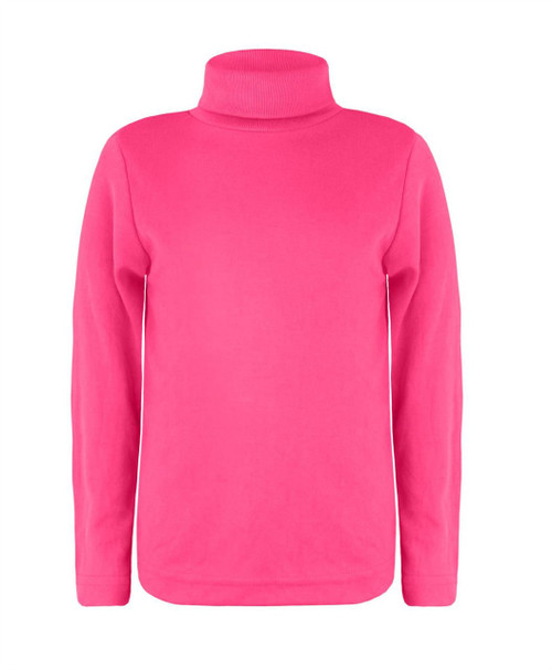Kids Turtleneck Basic Top in Blue, Mint and Pink