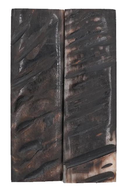 Rustic Black Exterior Sheep Horn 5 x 1 1/2 #3