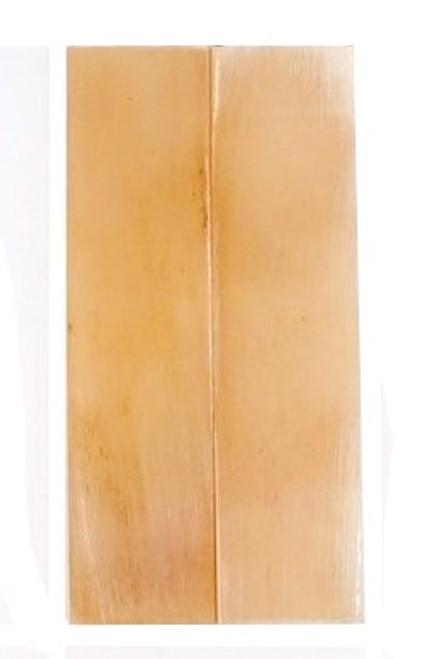 Oiled Interior Ram's Horn-3 1/8 x 3/4 x 1/8