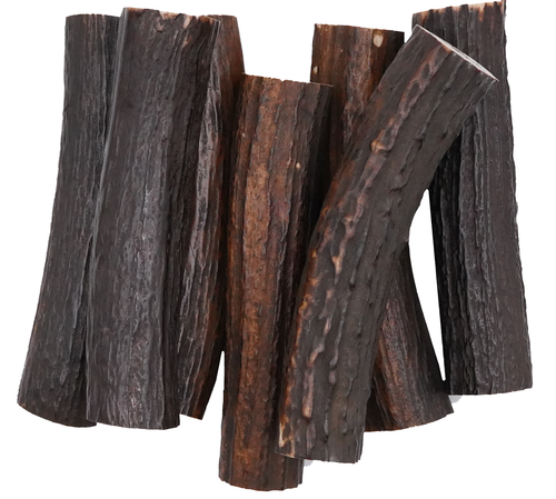 Natural Stag Curved Sticks