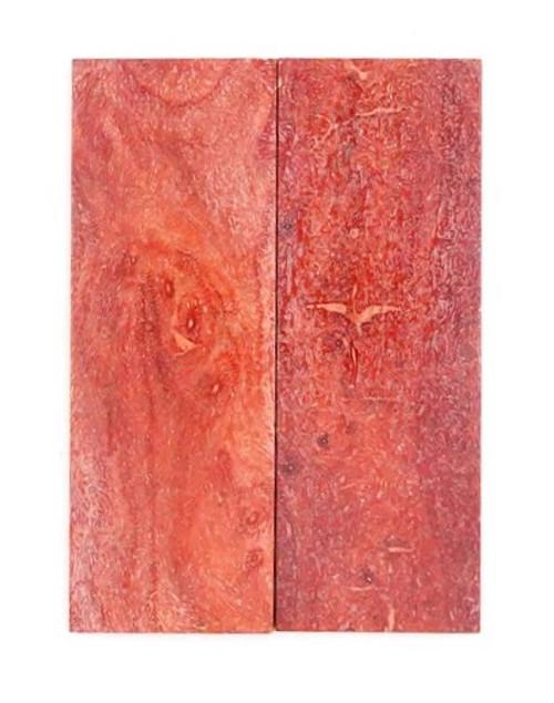 Apple Coral Pair  3 1/4 x 1 1/8 x 3/16 #2