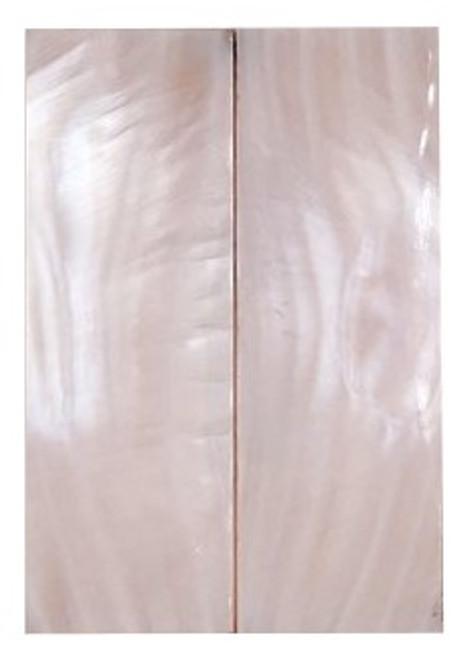 Pink Pearl Pair 2 7/8 x 15/16 x .100 #7