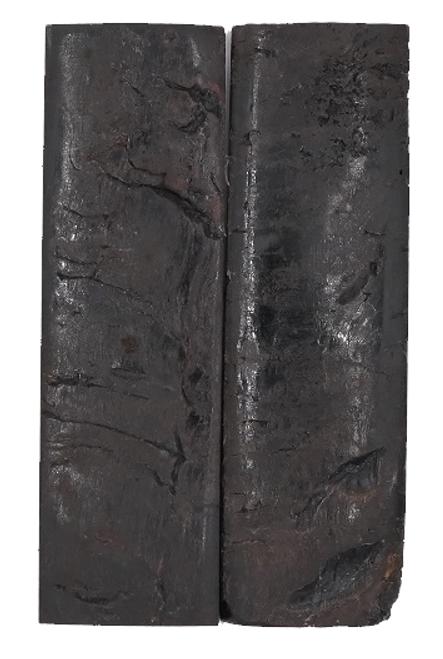 Rustic Black Exterior Sheep Horn 5 x 1 1/2 #4