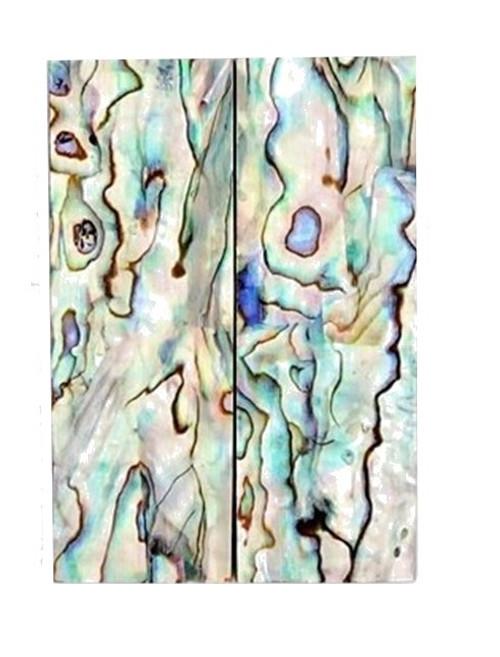 Paua Select Laminate Pair - 2 5/8 x 13/16 x .125 #3