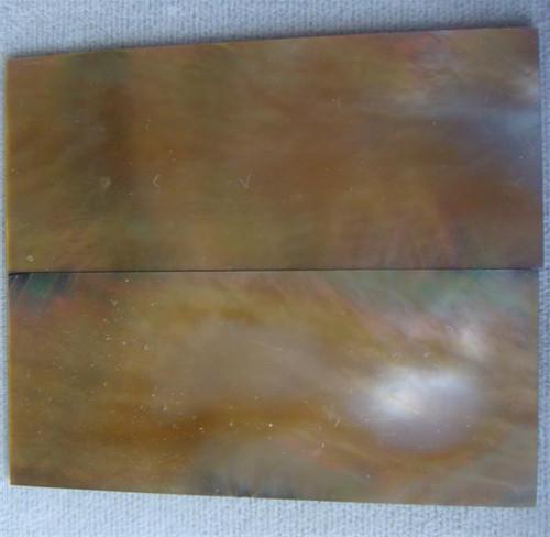 Brownlip Pearl Pair-2 1/4 x 7/8 x .050