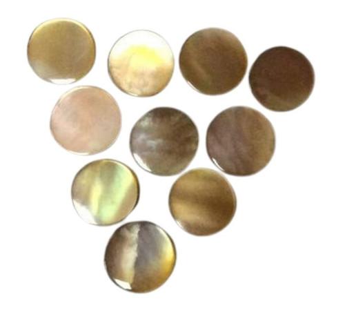 Brownlip Pre-Cut Inlay Circles