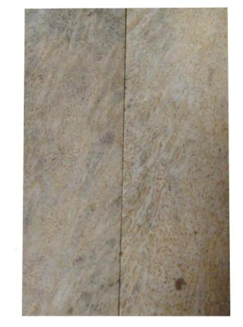 Lavendar Coral Pairs 3 1/8 x 1 1/8 x .145 #1