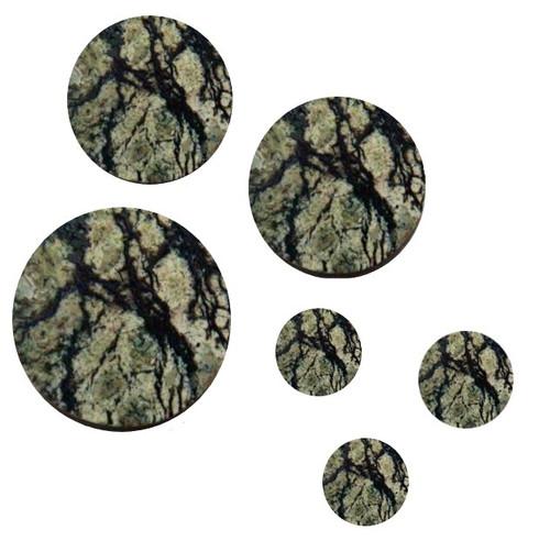 Serpentine Stone Pre-Cut Inlay Circles