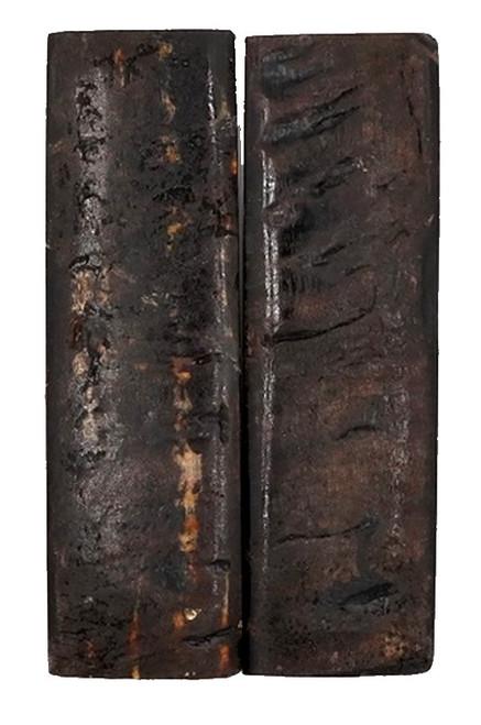 Rustic Black Exterior Sheep Horn 5 x 1 1/2 #1