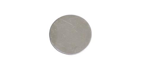 "MS706-1 1/4"" Nickel Silver Round Blank"