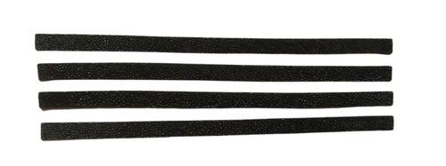 Black Single Crown Stingray Leather Band