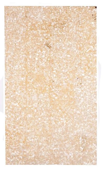 """Crushed White MOP Laminate Sheet-9 1/2 x 5 1/2 x .050"""""""