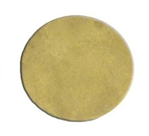 """MS506-1 1/4"""" Brass Round Blank"""