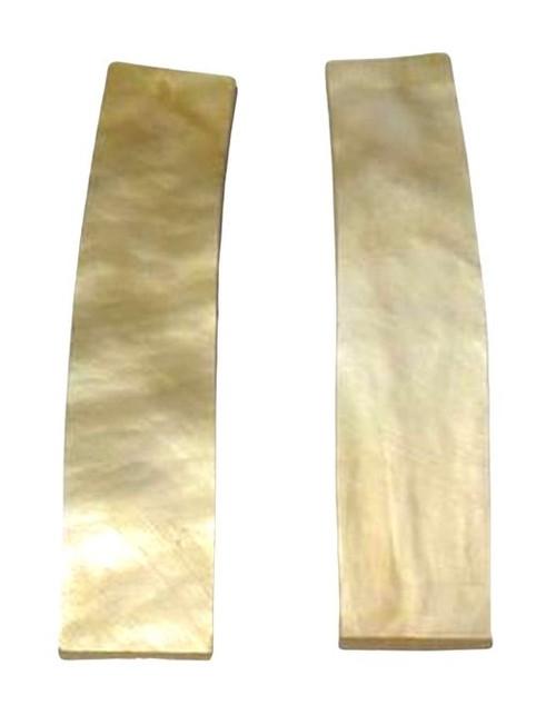 Pre-Shaped Goldlip Pairs-2 1/4 x 1/2 X .060+