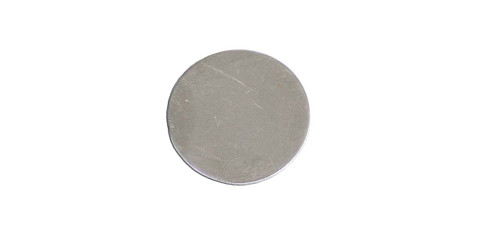 """MS606-1 1/4"""" Stainless Round Blank"""