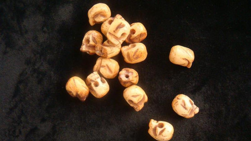 Bone Skull-Strand - 16.6mm x 12.7mm