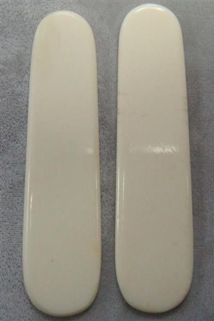 Swiss Army Pre Shaped Undyed Smooth Bone-3 1/2 x 7/8 x .130 (Pre-Shaped)