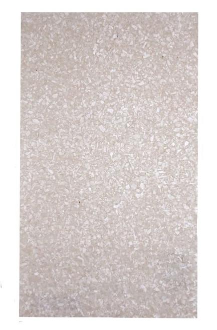 Crushed White MOP Laminate Sheet-9 1/2 x 5 1/2 x 1/4