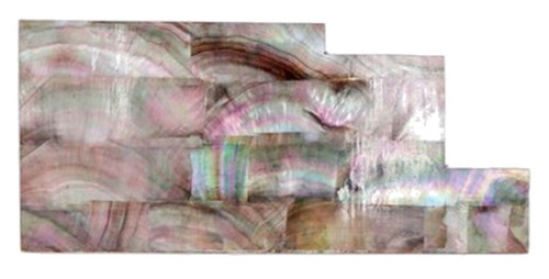 Blacklip Pearl Laminate Piece-6 x 2 7/8 x .125