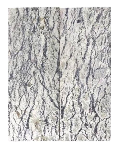 Light Serpentine Stone Pairs  4 x 1 1/2 x 1/4