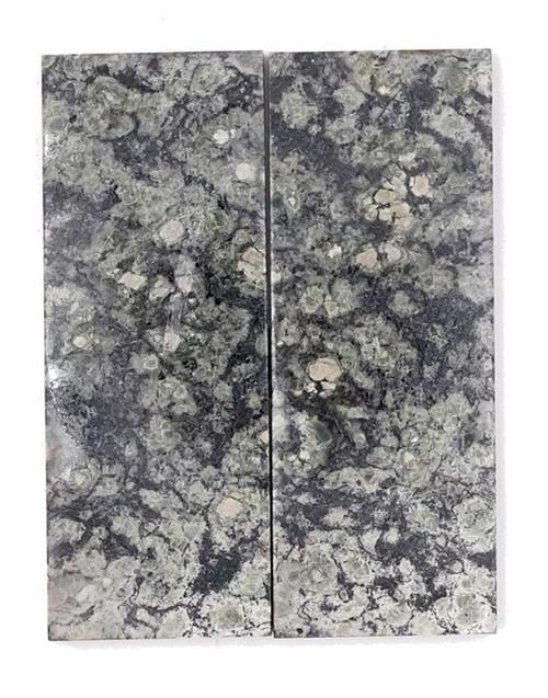 Dark Serpentine Stone Pairs 4 x 1 1/2 x 1/4