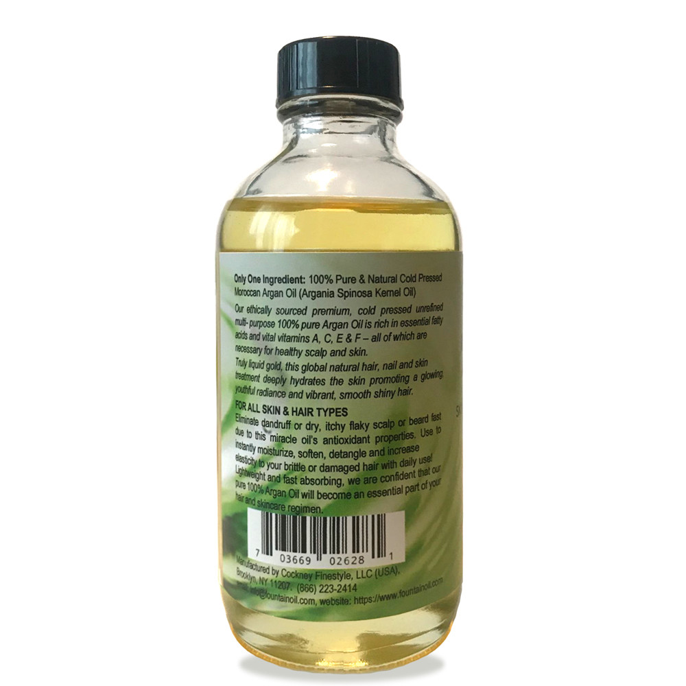 Fountain 100% Pure Moroccan Argan Oil 5 Fl. Oz