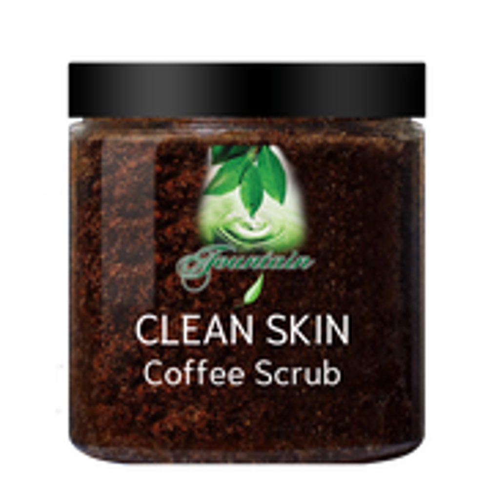 Fountain Clean Skin Coffee Scrub - No scars, no lumps, bumps and shrink those stretch marks within weeks!