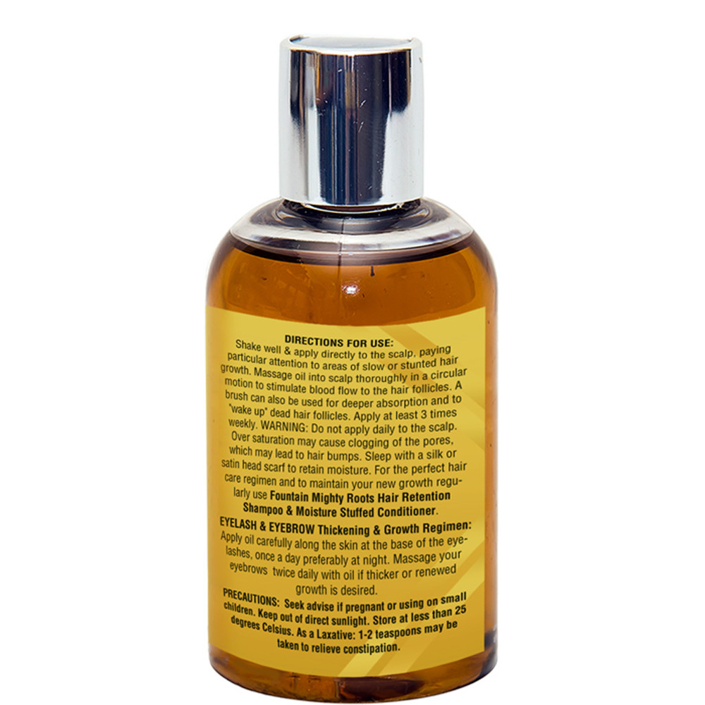 Fountain Real Black Black Jamaican Castor Oil 4 Oz - RIGHT