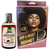Fountain MIGHTY ROOTS/ Super Jumbo Deluxe Luxury Day & Night Satin Bonnet