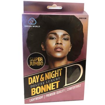 Super Jumbo Day & Night Deluxe Satin Bonnet