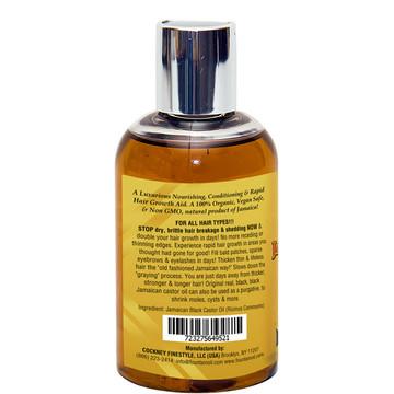Fountain Real Black Black Jamaican Castor Oil 4 Oz - LEFT